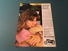 PRINT AD March 1967 Car Driver Magazine Bultaco Metralla 250 Mark II Motorcycle