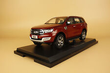 1/18 FORD EVEREST SUV diecast model+ gift