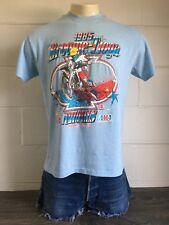 Broome Tioga Shirt 1985 80s Nationals Tony D Tshirt Motocross NY Moto Rare Tee L