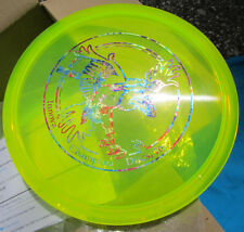 Clear Color Champion ROC 3 Golf Disc with SWEET Stamp Flat Top Clear Rim NICE!