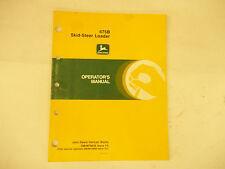 John Deere 675B Skid-Steer Loader
