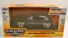 1969 '69 DODGE CHARGER DAYTONA BIGTIME MUSCLE FRESH RIDE 1:32 DIECAST JADA