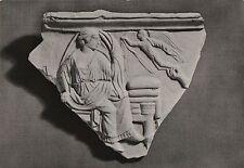 Postcard Italy 5thC BC Terracotta Relief from Tarentum Eros Visting a Bride RPPC