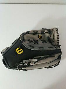 "Wilson A360 Baseball Softball Glove 14"" A03RS15 14 Genuine Leather Mitt RHT Nice"