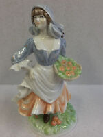 Royal Worcester Figurine Rosie Picking Apples Limited Edition 1986 E Woodhouse