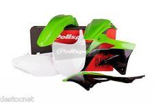 Kit plastiques Polisport  Couleur Noir   Kawasaki  KX450F   Année 2012