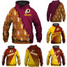 Washington Redskins Hoodies 3D Print Sweatshirts Football Hooded Pullover Jacket
