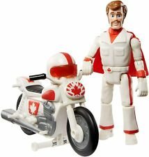 Toy Story Posable Duke Caboom with Motorcycle Action Figure