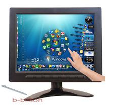 """8"""" Car PC Color LED Display VGA BNC RCA AV POS Touch Screen TFT LCD Monitor US"""