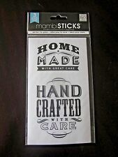 mambiSticks Glass Container Labels Mason Canning Stickers HOME MADE HAND CRAFTED