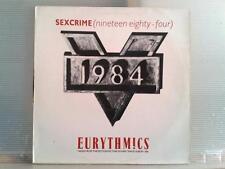 "EURYTHMICS - SEXCRIME (1984)  - MAXI SINGLE 12"" - ESPAÑA -1984 - (MB/VG - MB/VG)"