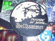HELLHAMMER Shape Patch Dead Morbid Black Metal Mayhem CELTIC FROST