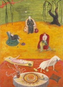 Florine Stettheimer Heat Giclee Art Paper Print Paintings Poster Reproduction