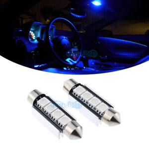 LED Bulb Bright Blue For Kenworth T660 T600 T2000 Interior Dome Lights (2 Pcs)