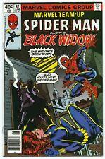 MARVEL TEAM-UP #82 June 1979 NM 9.4 W SPIDER-MAN BLACK WIDOW App BUCKLER B/O