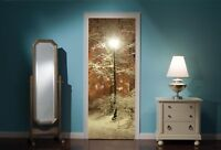 Door Mural Winter Similar to Narnia View Wall Stickers Decal Wallpaper 325