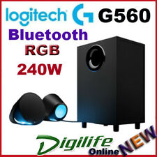 Logitech G560 LIGHTSYNC RGB LED 2.1 USB Wireless Bluetooth Speaker System