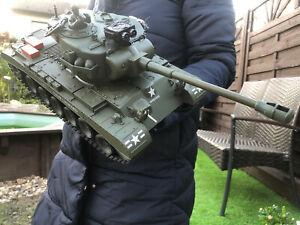 44//33cm Ferngesteuerter Panzer RC LED Tank Panzer Kinder Spielzeug Geschenk