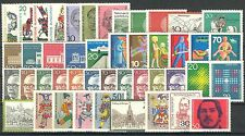 BUNDESPOST - 1970 complete year MNH