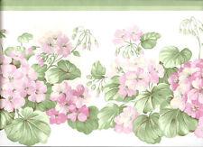 Geranium Country Garden Wallpaper Border