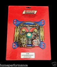 HOLLEY BG CARB ALC METH DOUBLE PUMPER  CARBURETTOR REBUILD GASKET  KIT Q3-304