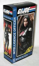 "Sideshow GI Joe 12"" 1/6 Intelligence Officer Baroness Cobra Action Figure"
