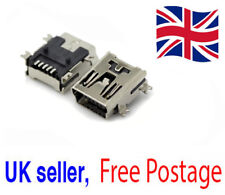 10x Mini USB Type B Female 5-Pin SMT SMD Socket Jack Connector PCB UK Seller *