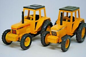 2 Various BRITAINS Action Drive JOHN DEERE Type Tractor Hong Kong & China Made