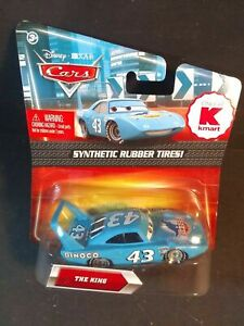 DISNEY PIXAR CARS • THE KING• SYNTHETIC RUBBER TIRES • KMART exclusive MOC 2010