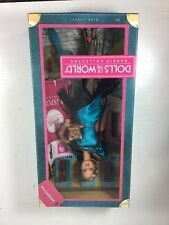 Mattel Barbie Argentina Dolls Of The World Pink Label Doll