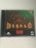 Diablo 1 Original PC CD-Rom 1998 w/ original jewel case