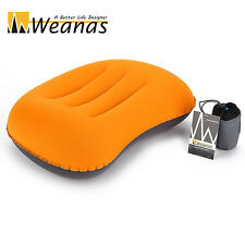 Weanas Ultralight Camping Self Inflatable Travel Pillow Portable Compact Soft