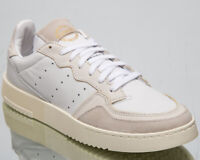 adidas Originals Supercourt Mens Crystal White Casual Lifestyle Shoes EE6024