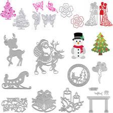 Christmas Series Metal Cutting Dies Stencil Scrapbook Cards Craft DIY Die-Cutter