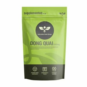 Dong Quai Extract 1000mg 180 Tablets Vegan High Strength Angelica Supplement