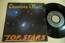 TOP STARS AVEC LA CHORALE DE BONDY 45T CHANTONS NOEL. EMI FRANCE 2022437.