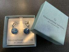 Touchstone Crystal Swarovski LuLu Earrings, Ocean Delite BNIB