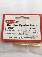 NEW Hard Ajustable Rod 3 x 52mm suit Kyosho Vintage part #IFW165