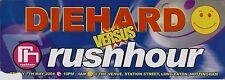 (Rave Flyer 2004) Diehard v Rushhour @ Nottingham - dj seduction.dj sy