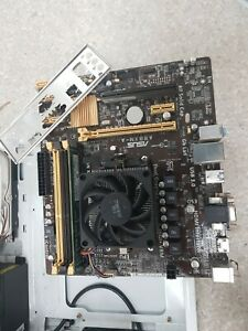 Asus A88XM-A Motherboard with AMD A8-6600K @3.90GHZ CPU + 8GB RAM + I/O SHIELD.