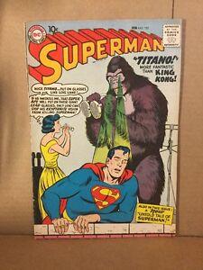 Superman #127 Very Fine Condition