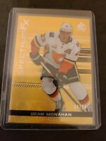 2019-20 SP AUTHENTIC SPECTRUM FX GOLD Sean Monahan #/50