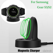 Wireless Charging Dock Cradle Charger For Samsung Gear S3 Classic Frontier Watch