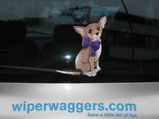 CHIHUAHUA DOG PET LOVER NOVELTY GIFT COLLECTABLE FOR CAR REAR WINDSCREEN WIPER
