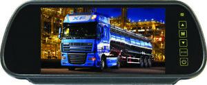 "Reversing Mirror Monitor 7"" TFT with Stalk (UK Supplier)"