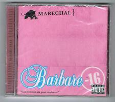 MARECHAL - BARBARE - CD 19 TRACKS - 2008 - NEUF NEW NEU