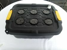 More details for dwc hydroponic 24ltr 6 plant  heavy duty system (air pump not included)