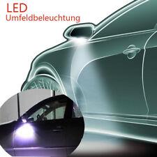 2x LED Lampe Umfeldbeleuchtung Rückspiegel-Lichter für Skoda Porsche Super Hell