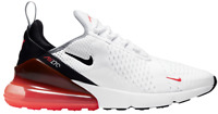 Men's Nike Air Max 270 (SIZE 8-13) White Red Black Running Gym Shoes BRAND NEW