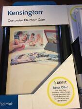 NEW Kensington Customize Me iPad Mini Tablet Case Cover K97355US BLACK